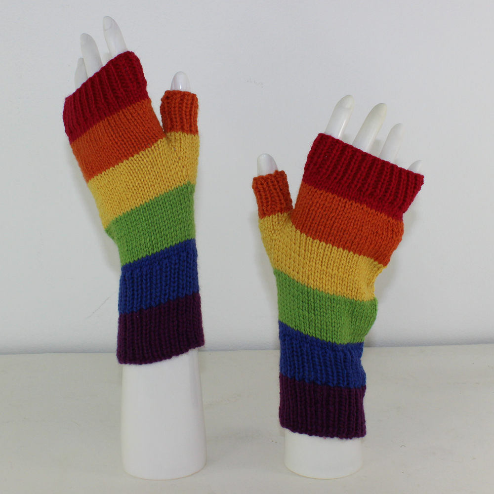 Rainow Fingerless Gloves