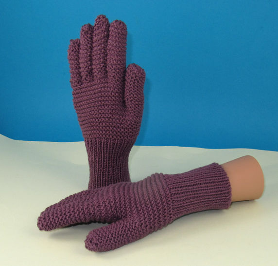 Garter Stitch Gloves at Makerist - Image 1