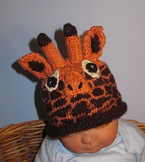 Baby Giraffe Beanie Hat at Makerist - Image 1