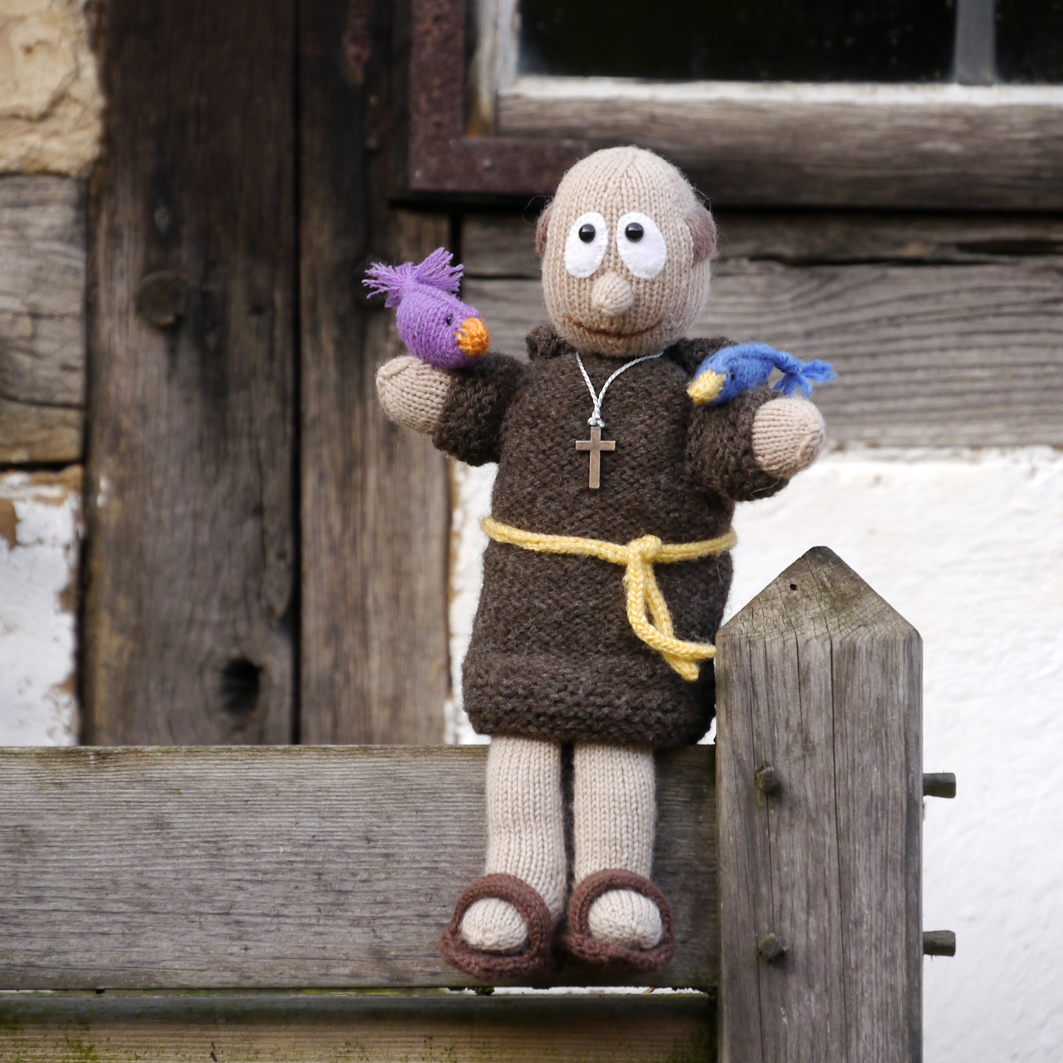 Puppet St. Francis of Assisi, knitting pattern
