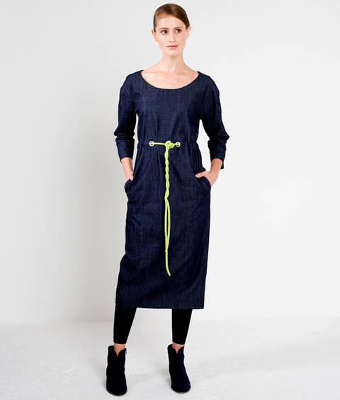 Schnittmuster und Nähanleitung Kleid Lea