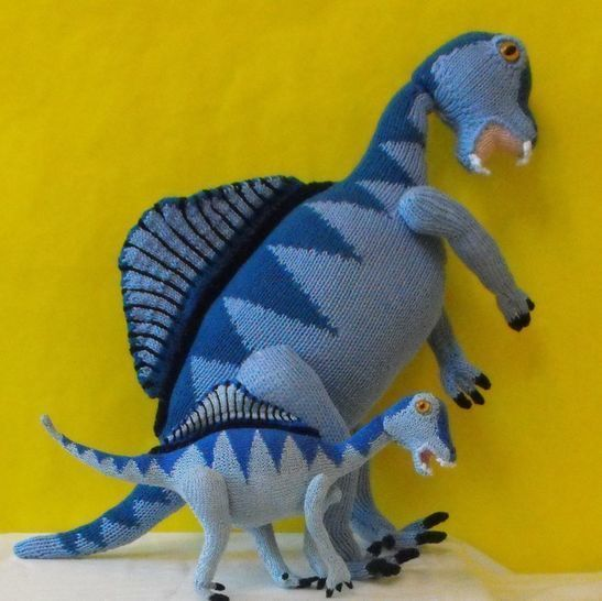 SPENCER SPINOSAURUS AND BABY DINOSAURS at Makerist - Image 1