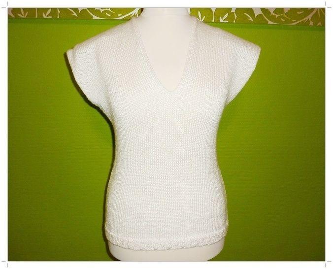 Strickanleitung für ein Shirt im Casual-Style bei Makerist - Bild 1