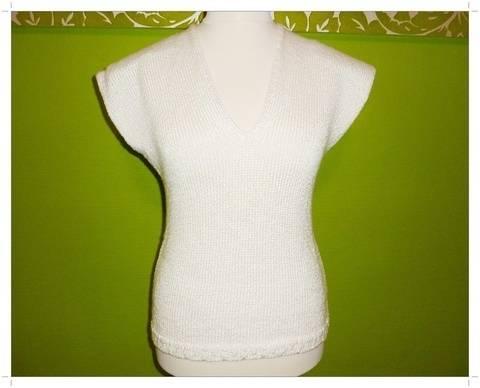 Strickanleitung für ein Shirt im Casual-Style