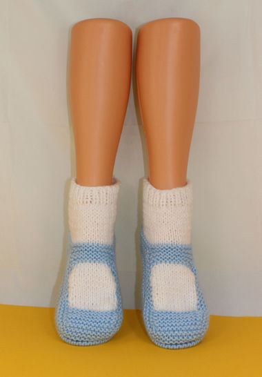 Adult Chunky Sock Slippers at Makerist - Image 1