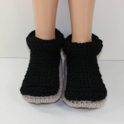 Adult Super Chunky Cuff Boots
