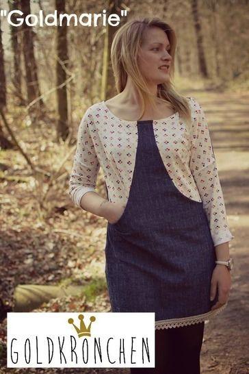 Goldmarie Ebook, Kleid, Hoodie, Shirt Gr.32-50 bei Makerist - Bild 1