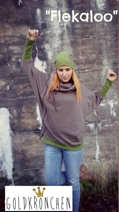 Flekaloo Ebook, Shirt und Jacke - Damen Gr. 32-46