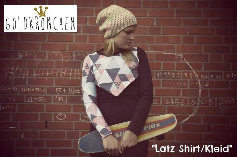 Latz Shirt/ Kleid Ebook Gr.36-42 bei Makerist - Bild 1