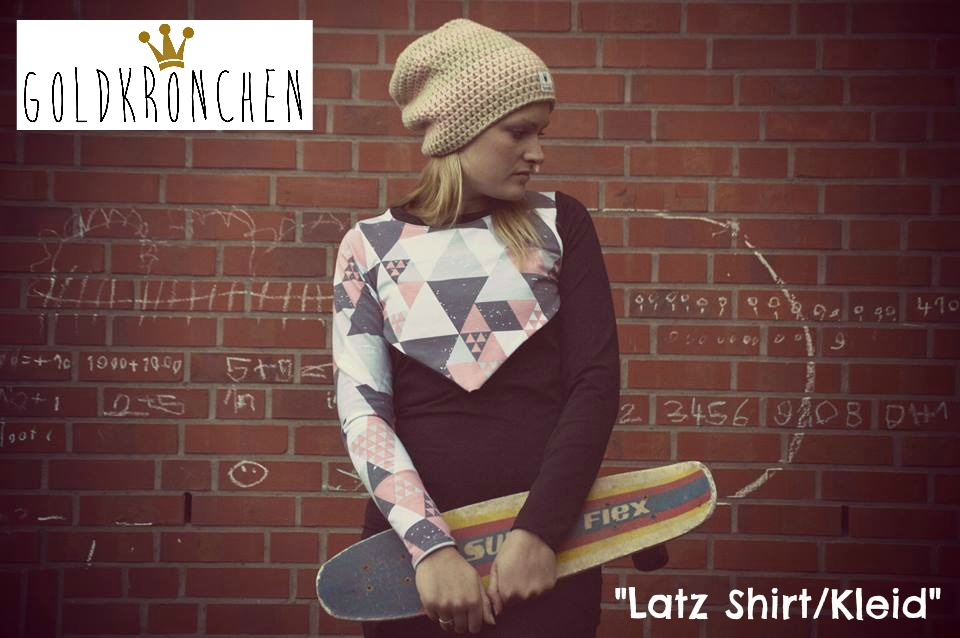 Latz Shirt/ Kleid Ebook Gr.36-42