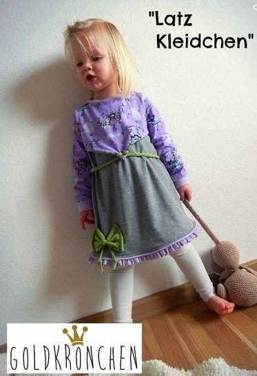 Latz Kleidchen Ebook Gr.62/68-134/140 bei Makerist - Bild 1