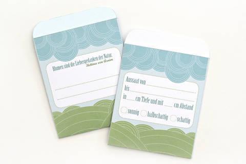 Ebook Blumensamentütchen pdf zum Selberdrucken bei Makerist