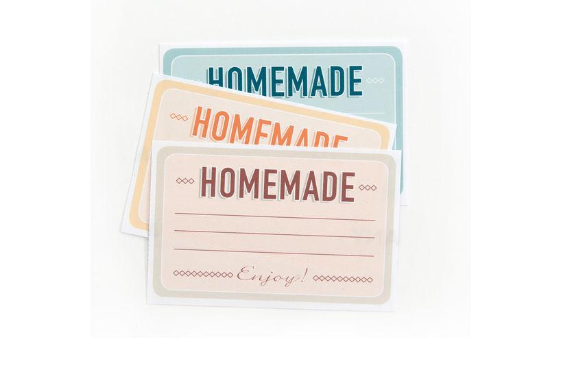 """Etiketten zum Selber-Ausdrucken """"Home Made"""" bei Makerist - Bild 1"""