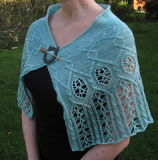 The Pale Lady Shawl - Knitting  at Makerist - Image 1