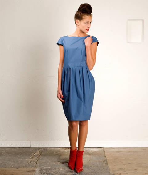 Schnittmuster und Nähanleitung Kleid Tanja