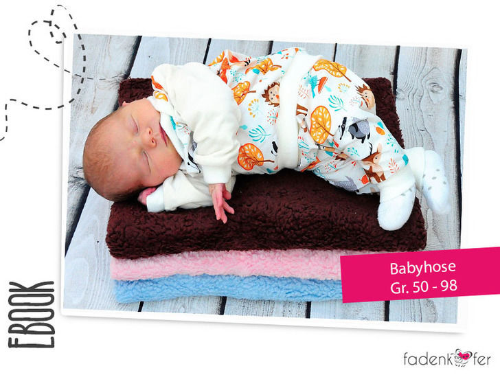 eBook Baby Pants  –  Sizes 50- 98 / newborn - 3 - Sewing at Makerist - Image 1