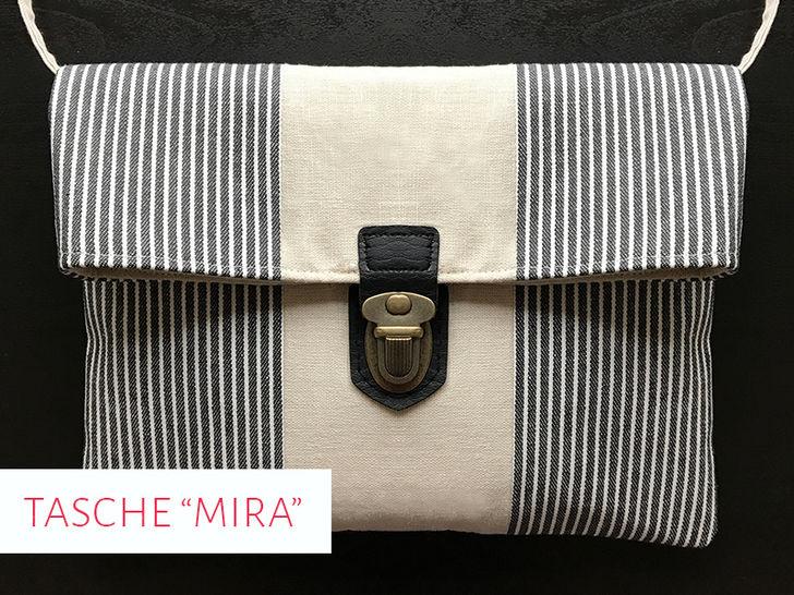 """Schnittmuster & Nähanleitung Handtasche """"Mira"""" bei Makerist - Bild 1"""