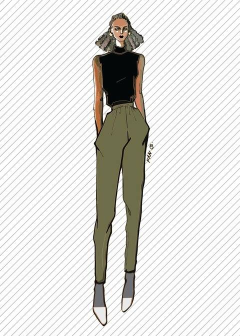 TR811 Jogger pants - PDF sewing pattern