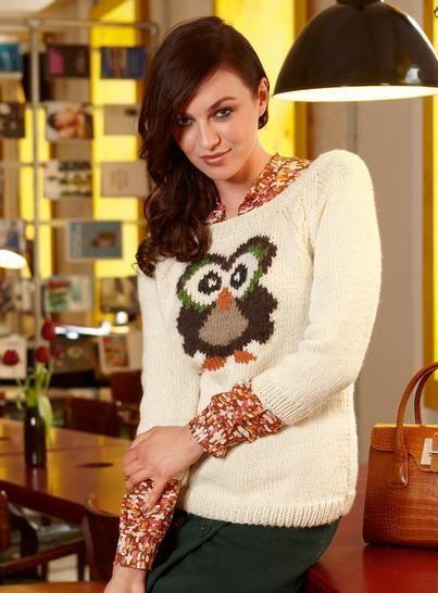Hedwig Pullover bei Makerist - Bild 1