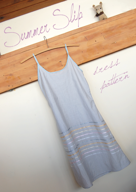 Summer Slip Dress - Simple Digital Sewing Pattern
