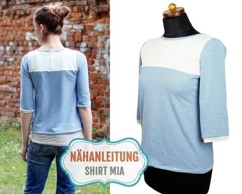 Shirt MIA nähen | 34–42 Nähanleitung & Schnittmuster bei Makerist