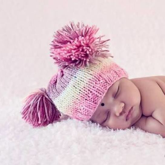 Easy Baby Tassel Beanie at Makerist - Image 1
