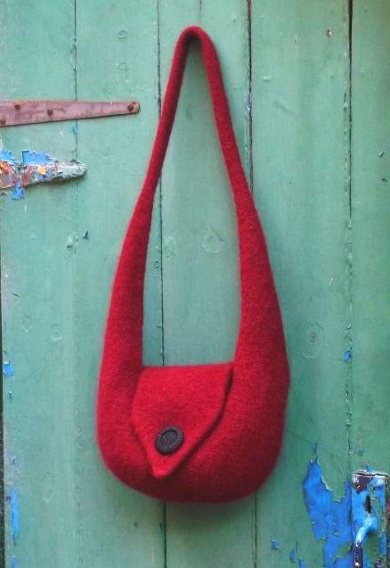 Bridget Shoulder Bag- Knitting Pattern