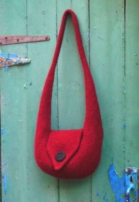 Bridget Shoulder Bag- Knitting Pattern