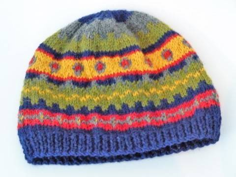 "Hat Fairisle style "" Jack ""  knitting pattern at Makerist"