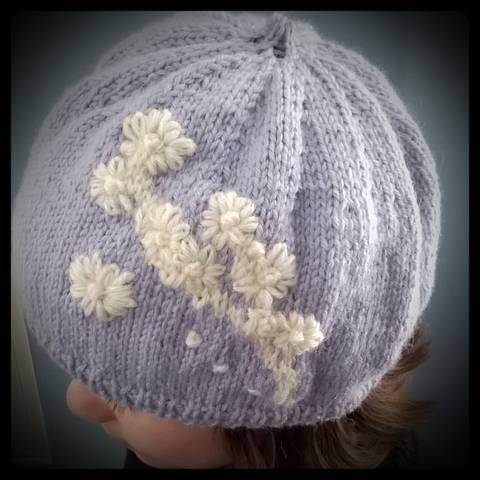 """ My Daisy Beret "" knitting pattern. at Makerist"