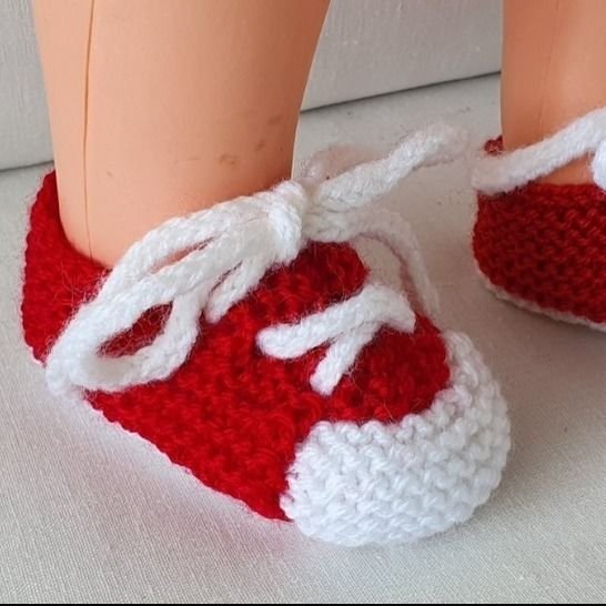 Baby's lace up shoes in two colours - Georgia at Makerist - Image 1