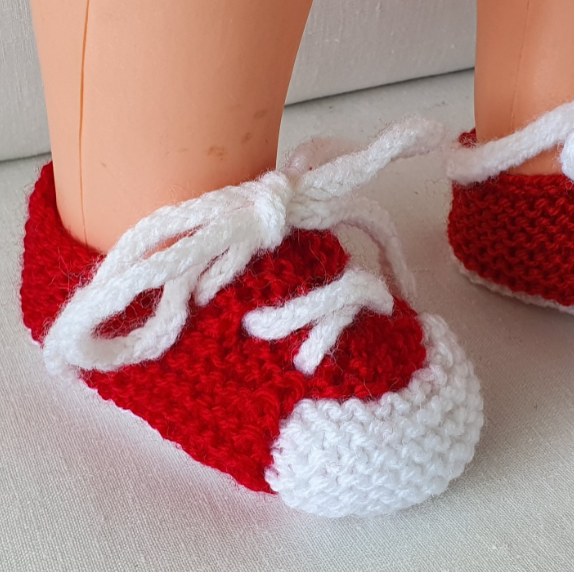 Baby's lace up shoes in two colours - Georgia