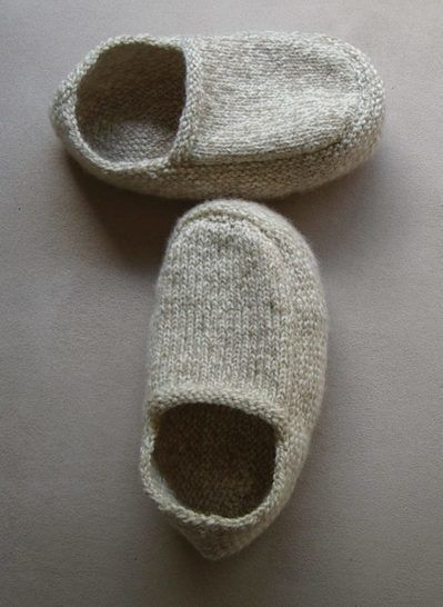 Family 8ply slippers - knitting pattern - Shay at Makerist - Image 1