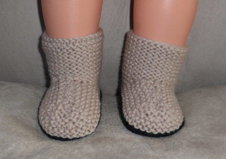 Baby's side buttoning boots in 8ply - Cassandra at Makerist - Image 1