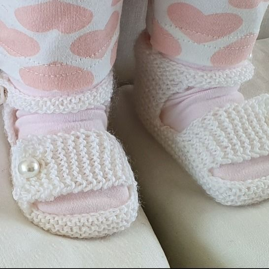 Baby sandals with ankle and foot straps - Miranda at Makerist - Image 1