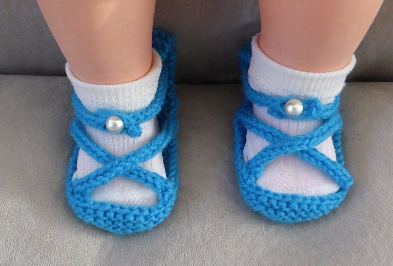 Baby sandals with foot and ankle straps - Sasha at Makerist - Image 1