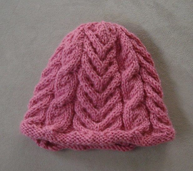 12ply Cable Beanie - PDF knitting pattern - Becky at Makerist - Image 1