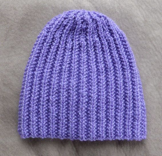 Broken rib beanie in 8ply, sizes 2 years to Lady - Casey at Makerist - Image 1