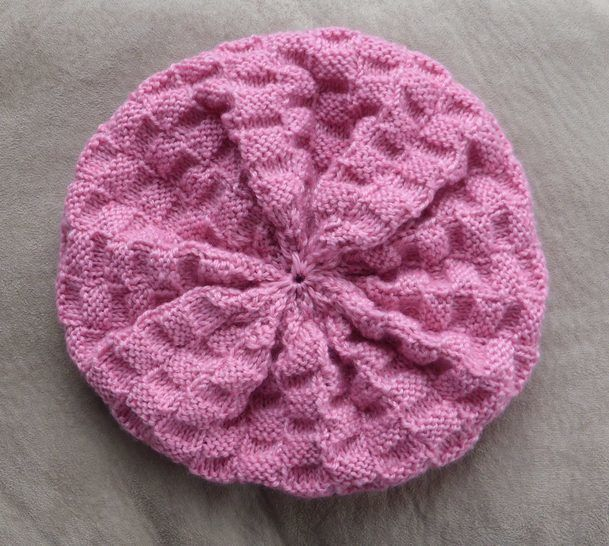 8ply beret style beanie, sizes 2 years to lady - Ivy at Makerist - Image 1