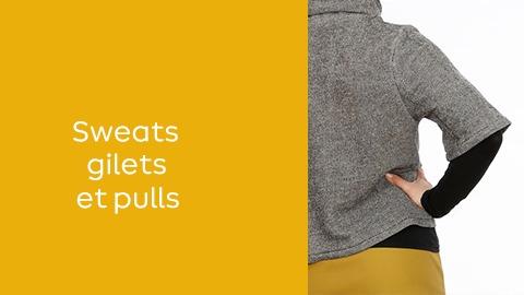 Patrons de couture : hauts - Sweats gilets et pulls