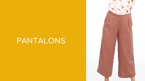 Patrons de bas : pantalons