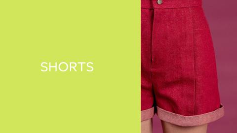 Patrons de bas : shorts