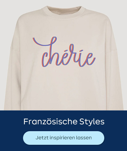 Französische Styles Plotten