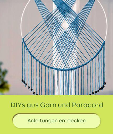 DIYs aus Garn und Paracord Basteln
