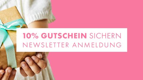 Gutschein für Newsletter Anmeldung