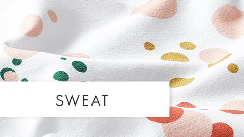 Sweat Bekleidungsstoffe