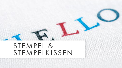 Stempel & Stempelkissen Teaser