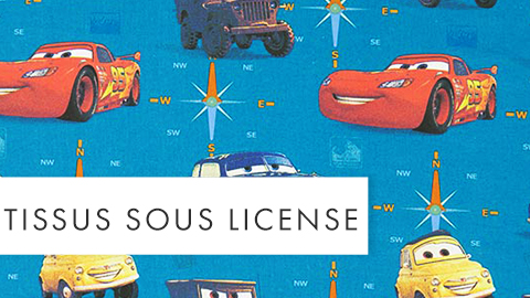 Tissus sous license