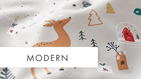 Weihnachtsstoffe Modern Teaser