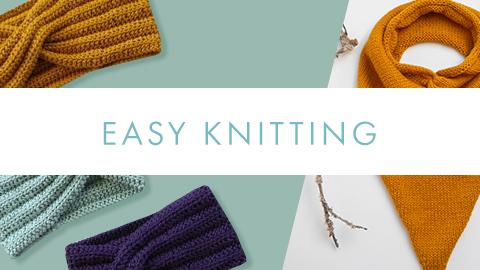 COM-Easy knitting inspiration